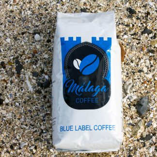 Blue Label Coffee Pack Shot